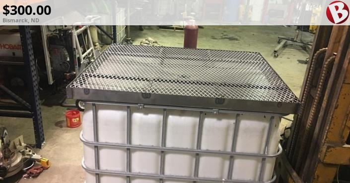 Used oil drain pan  Universal fit for 250 gallon totes  No more mess  |  Bismarck, ND
